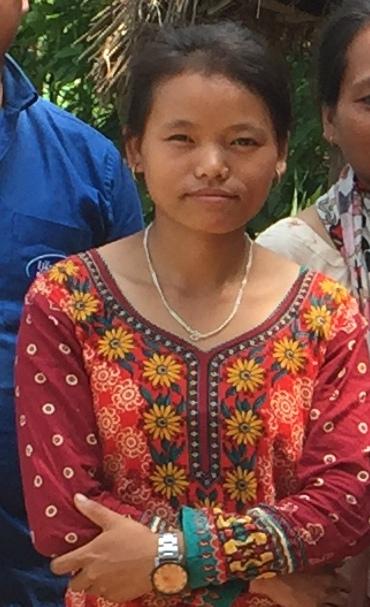 Syami Maya Ale, Nabin's Younger sister